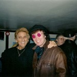 "Sharing a pint with the late Albie Wycherley (Billy Fury's brother) Liverpool 2005 ""Pull us a pint, and put an head on it, or I'll put an head on you!"" Albie Wycherley"