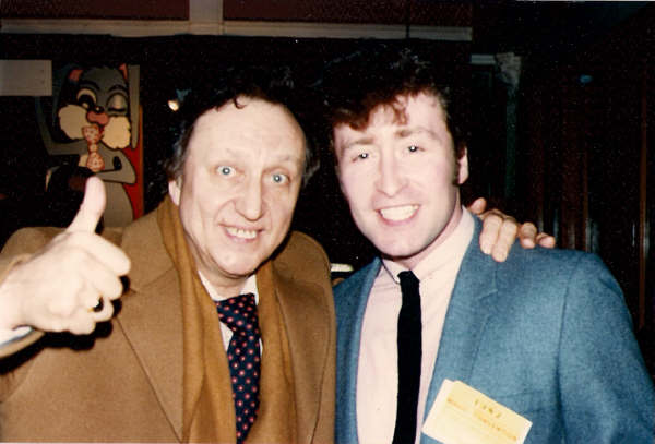 "Ken Dodd, The Magic convention Winter Gardens Blackpool 1986 ""You look like Lennon, sound like Lennon, but on stage be yourself"" Ken Dodd."