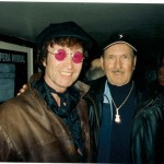 "James Burton (Elvis' lead guitarist) Liverpool 2005 ""Best John Lennon performer in the World"" James Burton"