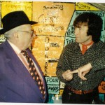 "George Melly. Celebrating forty years at 'The Cavern Club Liverpool' 1997 ""I remember when they only played jazz down here!"" The late George Melly."